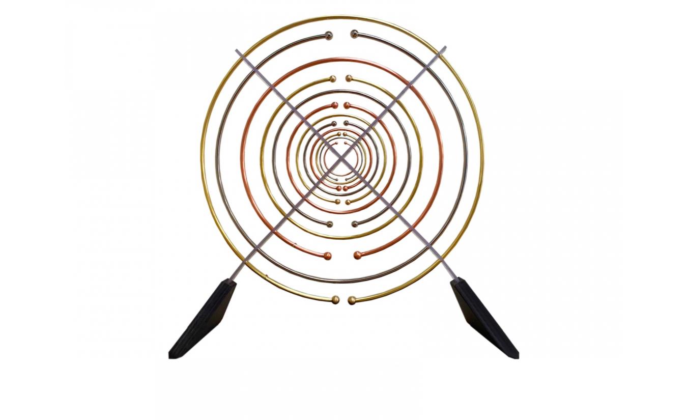 2 Lakhovsky-Antennen