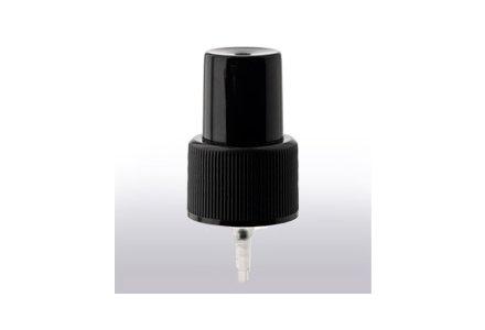 Sprayverschluss mit Dosiervolumen 0,07 ml, für Flasche 200 ml, schwarze Schutzkappe (1 stk)