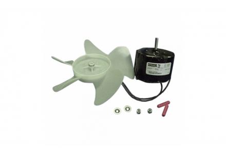 Fan motor kit w/blade & conn. Most Models 240 Volt