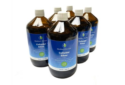 Kolloidales Silber 10ppm, 6 liter (5 + 1 kostenlos)