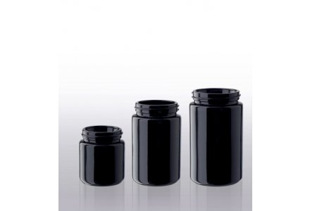 Miron wide neck jars, standard
